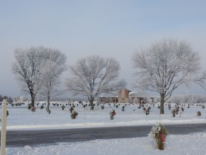 Winter beauty in Aberdeen SD cemeter