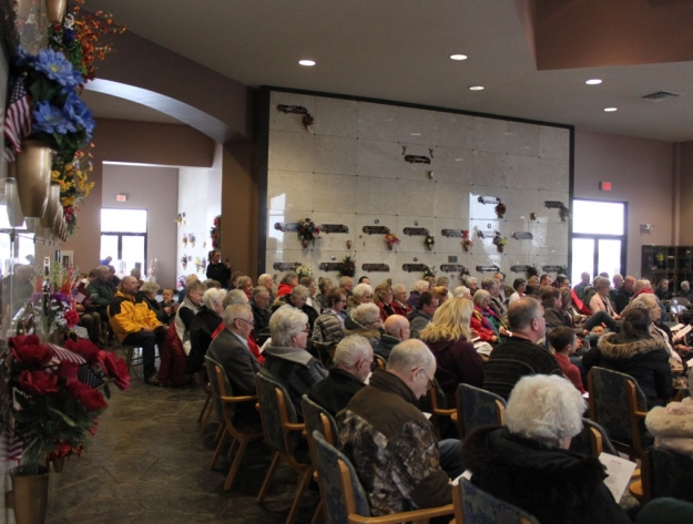 Attendees of 2019 Holiday Memorial Service